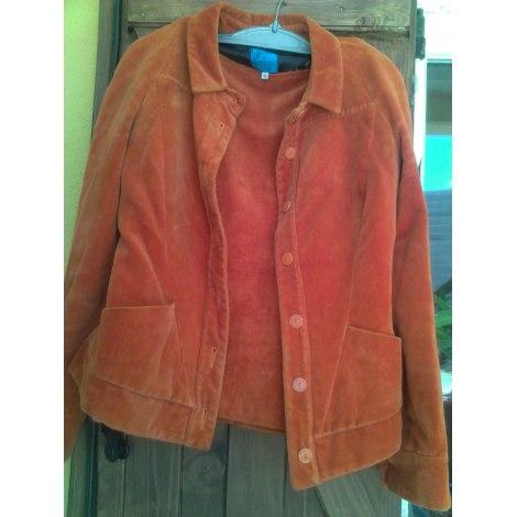 Tailleur jupe CHRISTIAN LACROIX Orange