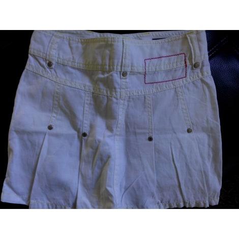 Jupe TOMMY HILFIGER Blanc, blanc cassé, écru