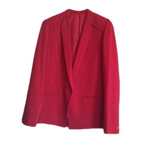 Tailleur pantalon BEL AIR Rouge, bordeaux
