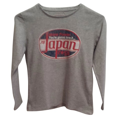 Tee-shirt JAPAN RAGS Gris, anthracite