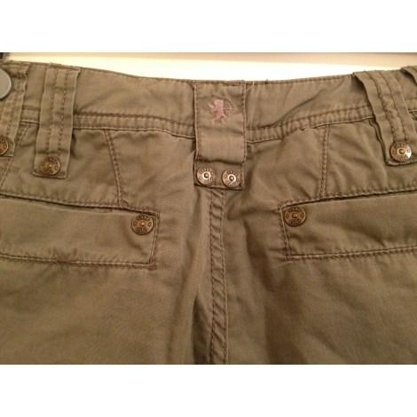 Pantalon évasé ESPRIT Kaki