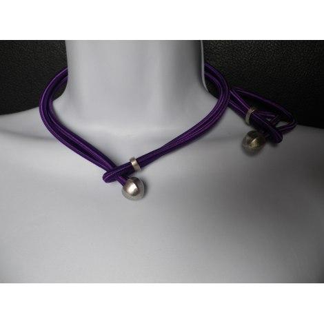 Parure bijoux LA TRIBU RIGAUX Violet, mauve, lavande