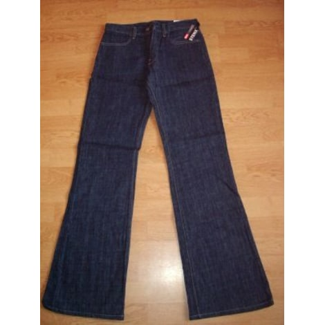 Pantalon évasé DIESEL Bleu, bleu marine, bleu turquoise