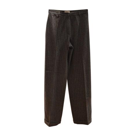 Pantalon large PABLO PAR GÉRARD DAREL Gris, anthracite