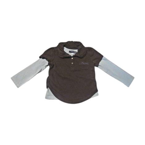 Top, Tee-shirt JEAN BOURGET Marron