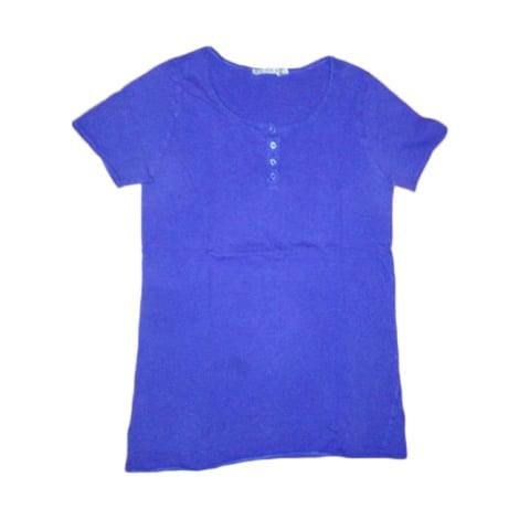 Top, tee-shirt KOOKAI Bleu, bleu marine, bleu turquoise