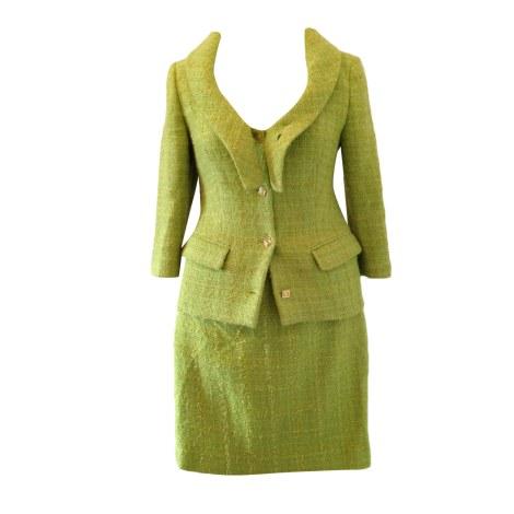 Tailleur jupe VERSACE Vert
