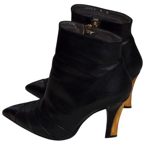 Bottines & low boots à talons CHARLES JOURDAN Noir