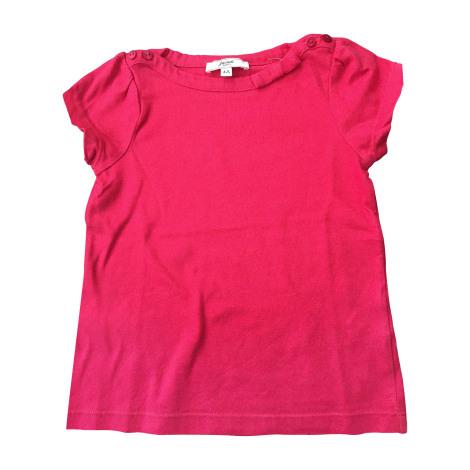 Top, Tee-shirt JACADI Rouge, bordeaux