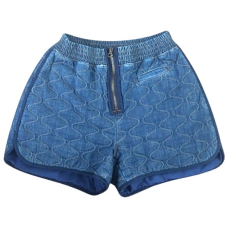 Short SEE BY CHLOE Bleu, bleu marine, bleu turquoise