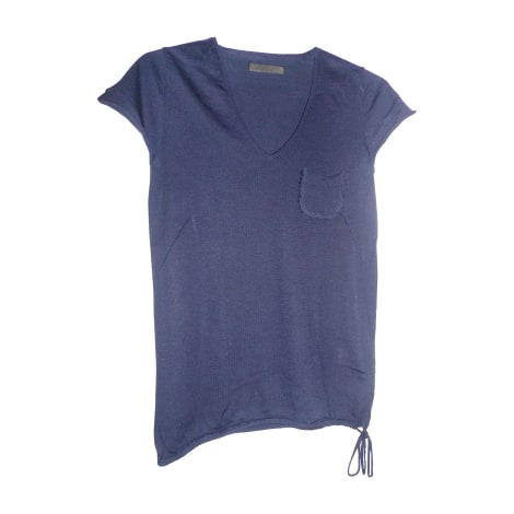 Top, tee-shirt ZADIG & VOLTAIRE Bleu, bleu marine, bleu turquoise