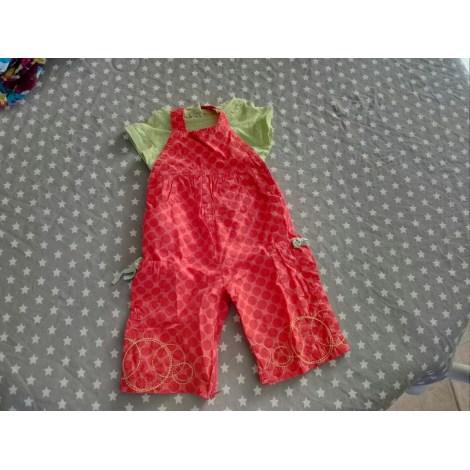 Ensemble & Combinaison pantalon DU PAREIL AU MÊME DPAM rouge/vert