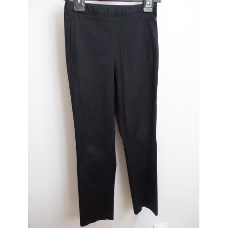 Pantalon droit AGNÈS B. Bleu, bleu marine, bleu turquoise