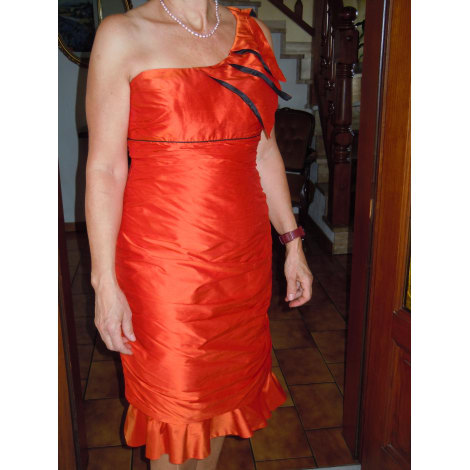 Robe dos nu LINEA RAFFAELLI Orange