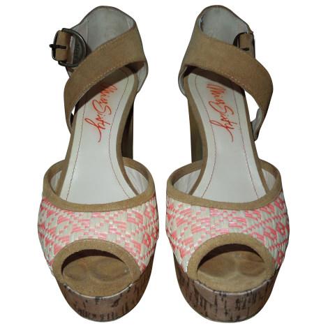 Sandales à talons MISS SIXTY Beige, camel