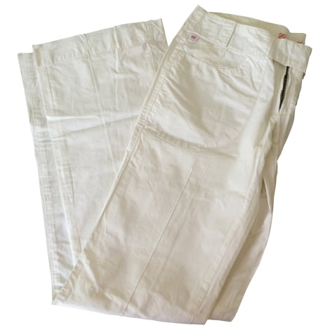 Pantalon slim, cigarette MISS SIXTY Blanc, blanc cassé, écru