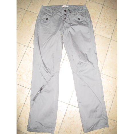 Pantalon droit LIU JO Kaki