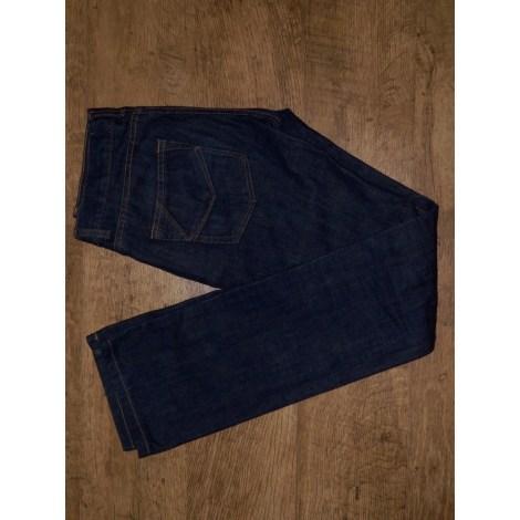 Jeans droit ZADIG & VOLTAIRE Bleu, bleu marine, bleu turquoise