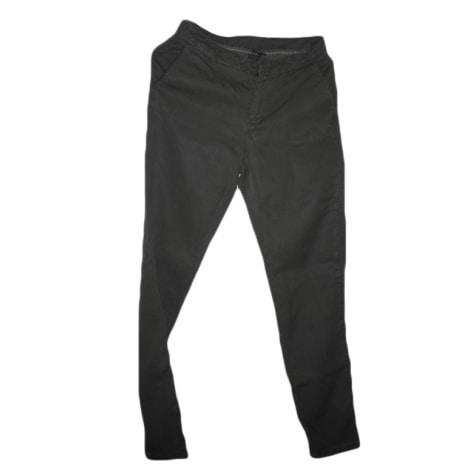 Pantalon slim, cigarette NAF NAF Kaki