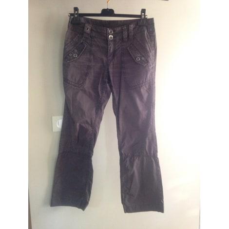 Pantalon évasé ESPRIT Gris, anthracite