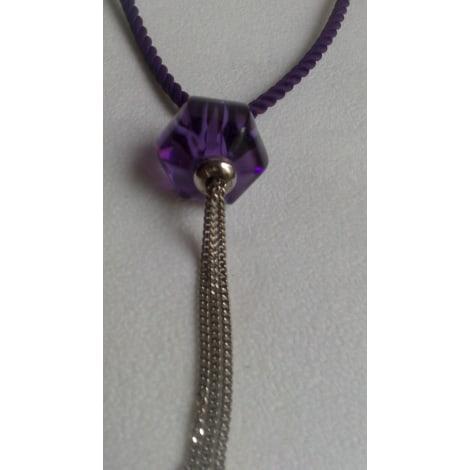 Pendentif, collier pendentif BACCARAT Violet, mauve, lavande