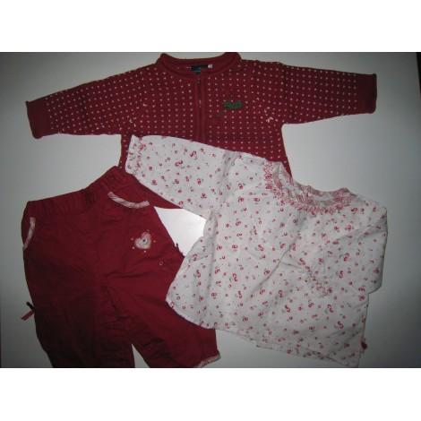 Ensemble & Combinaison pantalon SERGENT MAJOR Rouge, bordeaux