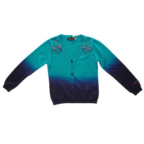 Gilet, cardigan CATIMINI Bleu, bleu marine, bleu turquoise