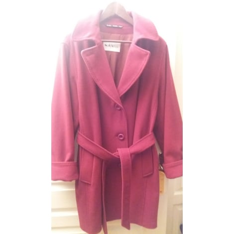 Manteau WEILL Rouge, bordeaux
