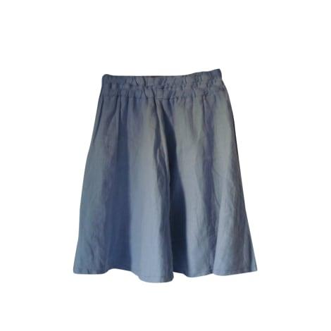 Jupe mi-longue ZARA Bleu, bleu marine, bleu turquoise