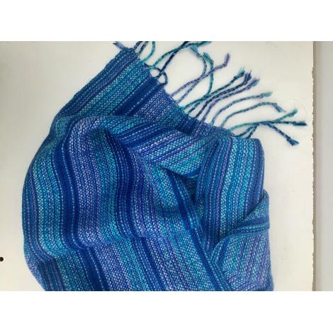 Echarpe MARQUE INCONNUE Bleu, bleu marine, bleu turquoise