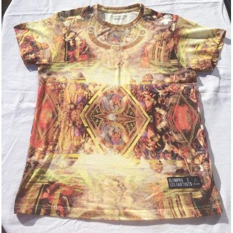 Tee-shirt ELEVEN PARIS Doré, bronze, cuivre