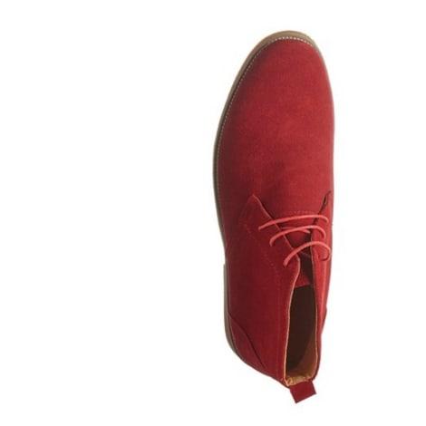 Chaussures à lacets DAZAWA Rouge, bordeaux