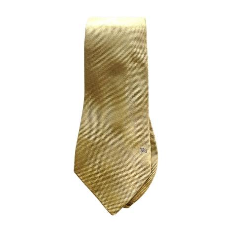 Cravate BURBERRY Jaune