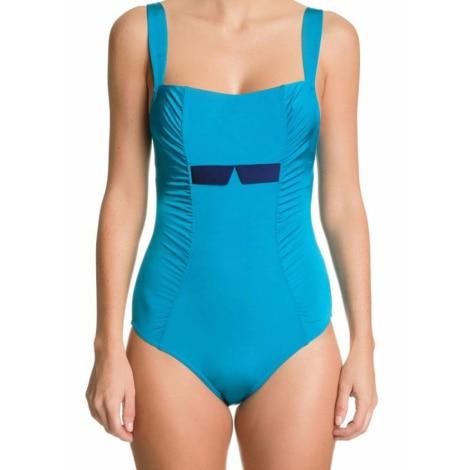 Maillot de bain une-pièce LEJABY Bleu, bleu marine, bleu turquoise