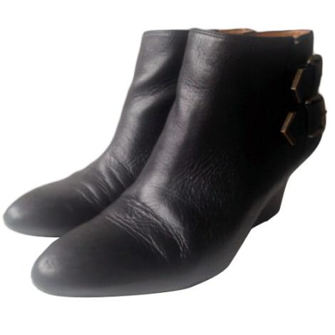 Bottines & low boots à compensés NINE WEST Noir