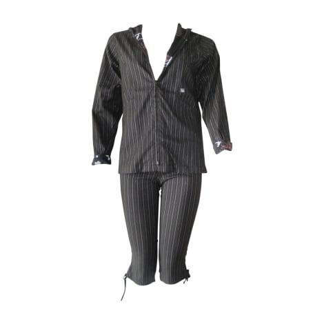Tailleur pantalon CHRISTIAN LACROIX Noir