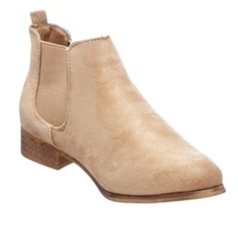 Bottines & low boots plates DAZAWA Beige, camel