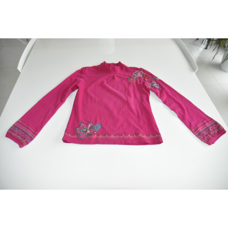 Top, Tee-shirt CATIMINI Rose, fuschia, vieux rose
