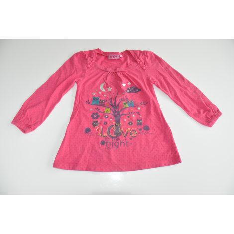 Top, Tee-shirt NKY Rose, fuschia, vieux rose