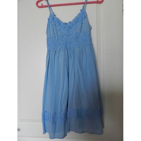 Robe courte TOPSHOP Bleu, bleu marine, bleu turquoise