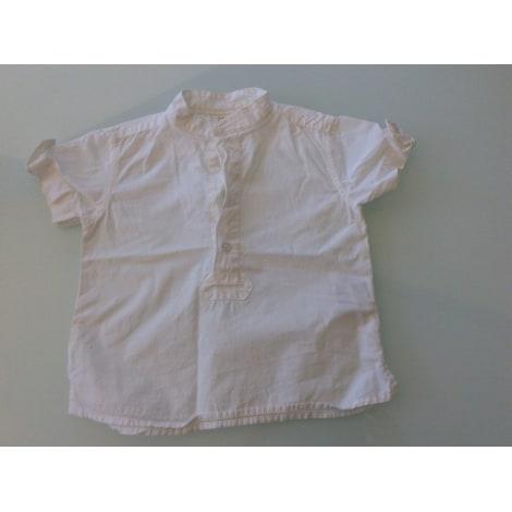 Chemisier, chemisette ZARA Blanc, blanc cassé, écru