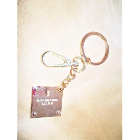 Porte-clés MICHAEL KORS Doré, bronze, cuivre