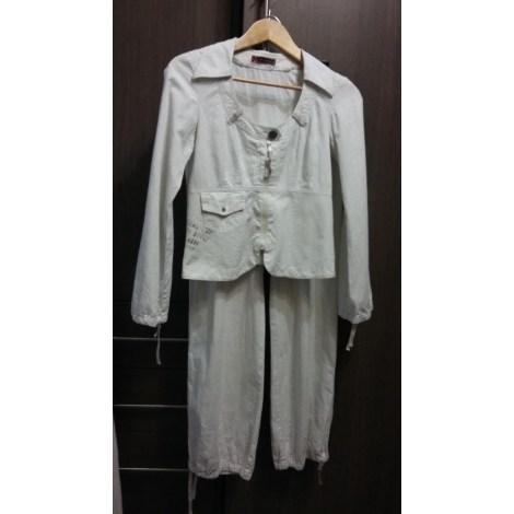 Tailleur pantalon COP-COPINE Blanc, blanc cassé, écru