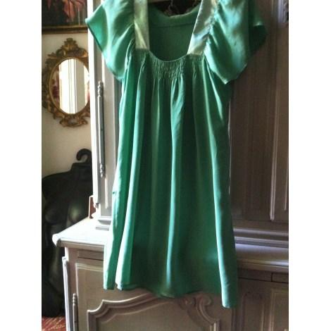 Robe courte GOOD LOOK Vert