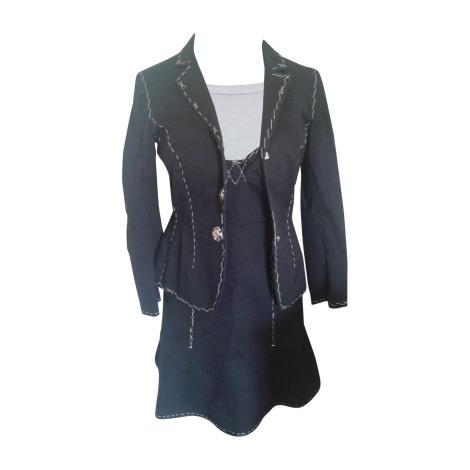 Tailleur robe MOSCHINO Noir