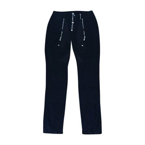Pantalon slim, cigarette HIGH Bleu, bleu marine, bleu turquoise