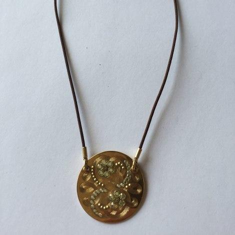 Collier GAS BIJOUX Doré, bronze, cuivre