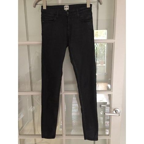 Jeans slim BEL AIR Noir