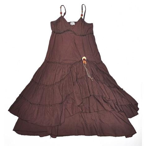 Robe longue INFINITIF Marron