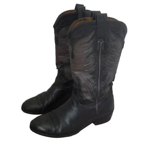 Santiags, bottes cowboy ZADIG & VOLTAIRE Noir